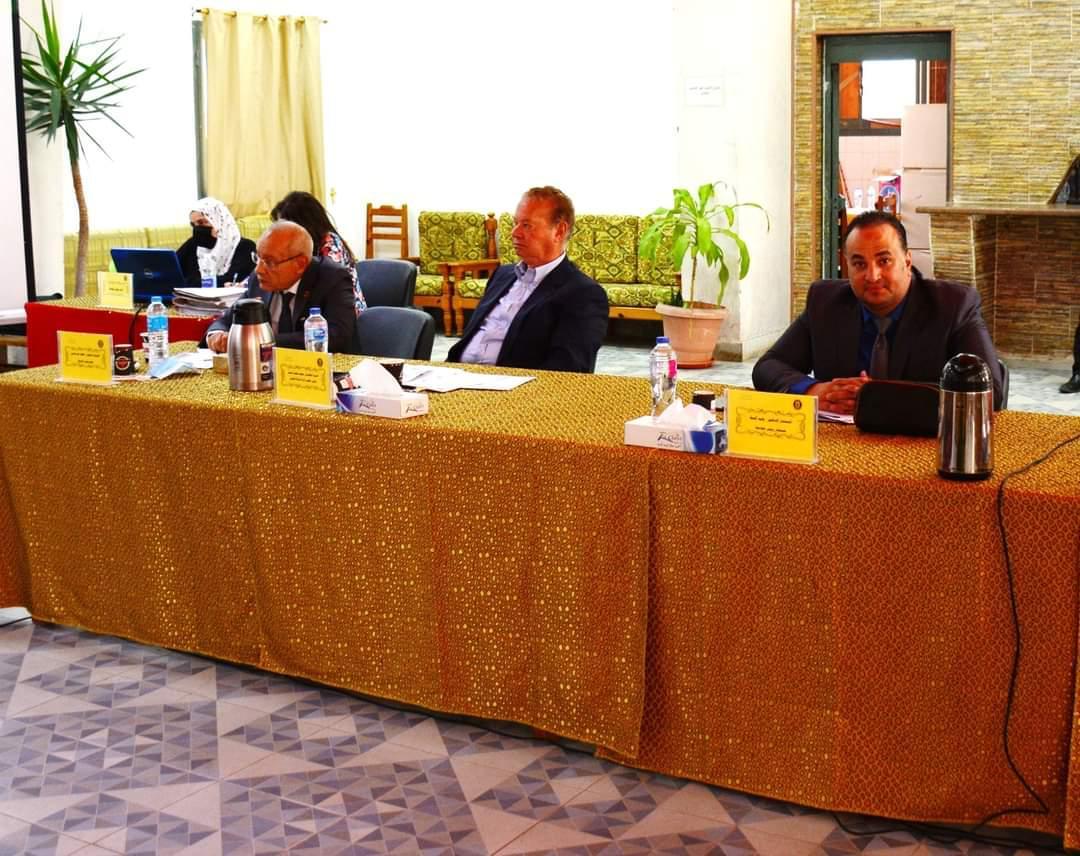 مجلس جامعة بورسعيد