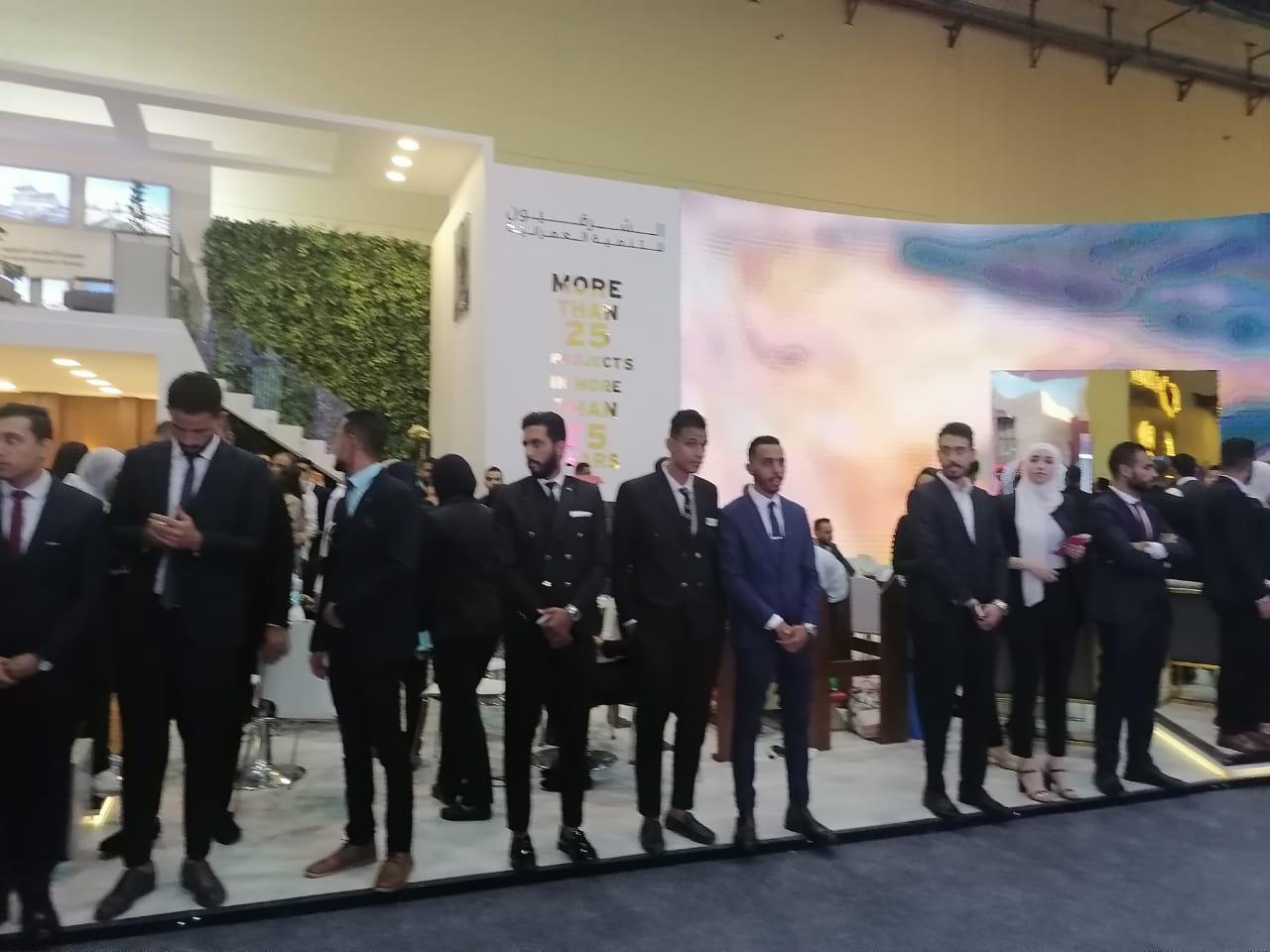 افتتاح معرض الأهرام العقارى