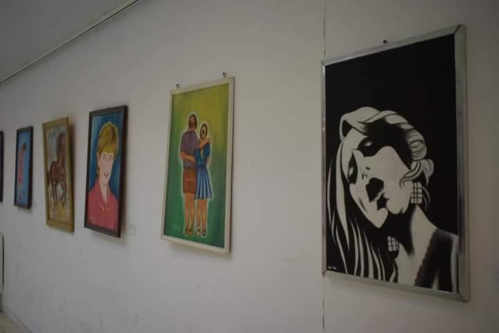 جانب من افتتاح المعرض