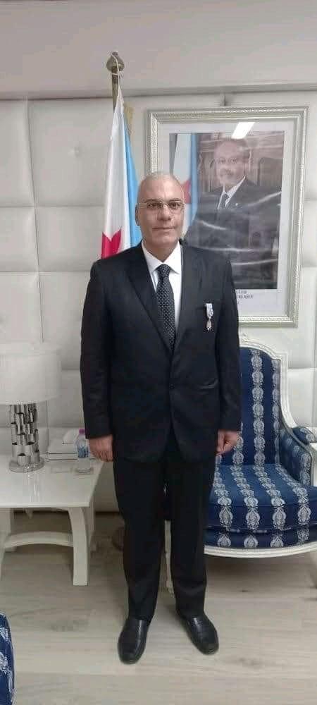 السفير المصري في جيبوتي