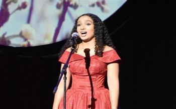 وزيرة الثقافة تشهد المشاركة الأولى لأصغر مغنية مصرية فى أوبرا فيينا |صور