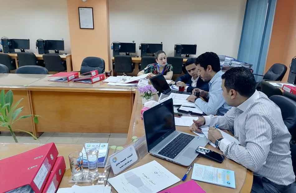 الإدارة العامة للتدريب بشركة المنيا