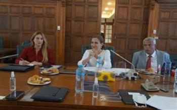 «تجارية الإسكندرية» تستقبل سفيرة كولومبيا لبحث سبل التعاون المشترك