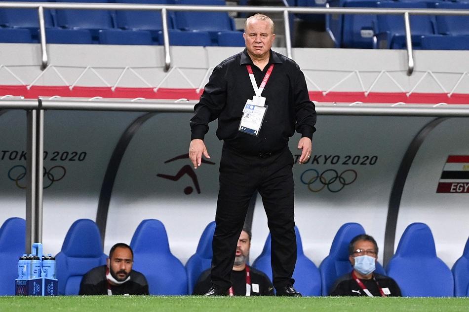 شوقي غريب العقد مع المنتخب الأولمبي انتهى بعد أولمبياد طوكيو