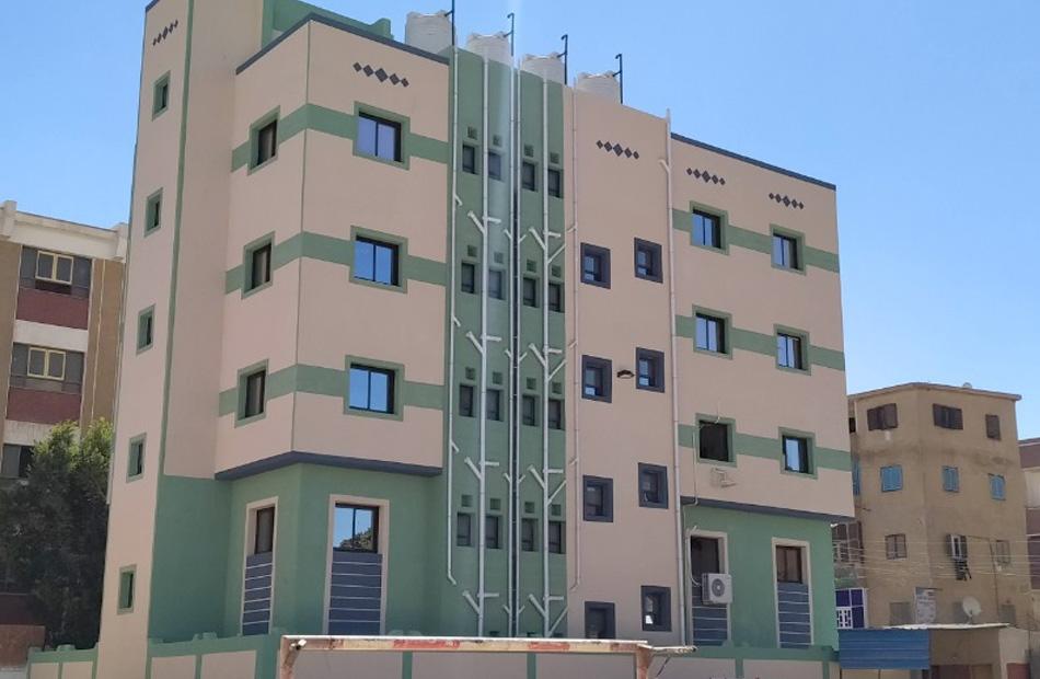 المدارس المدرجة ضمن خطة المشروع القومي لتطوير الريف المصري