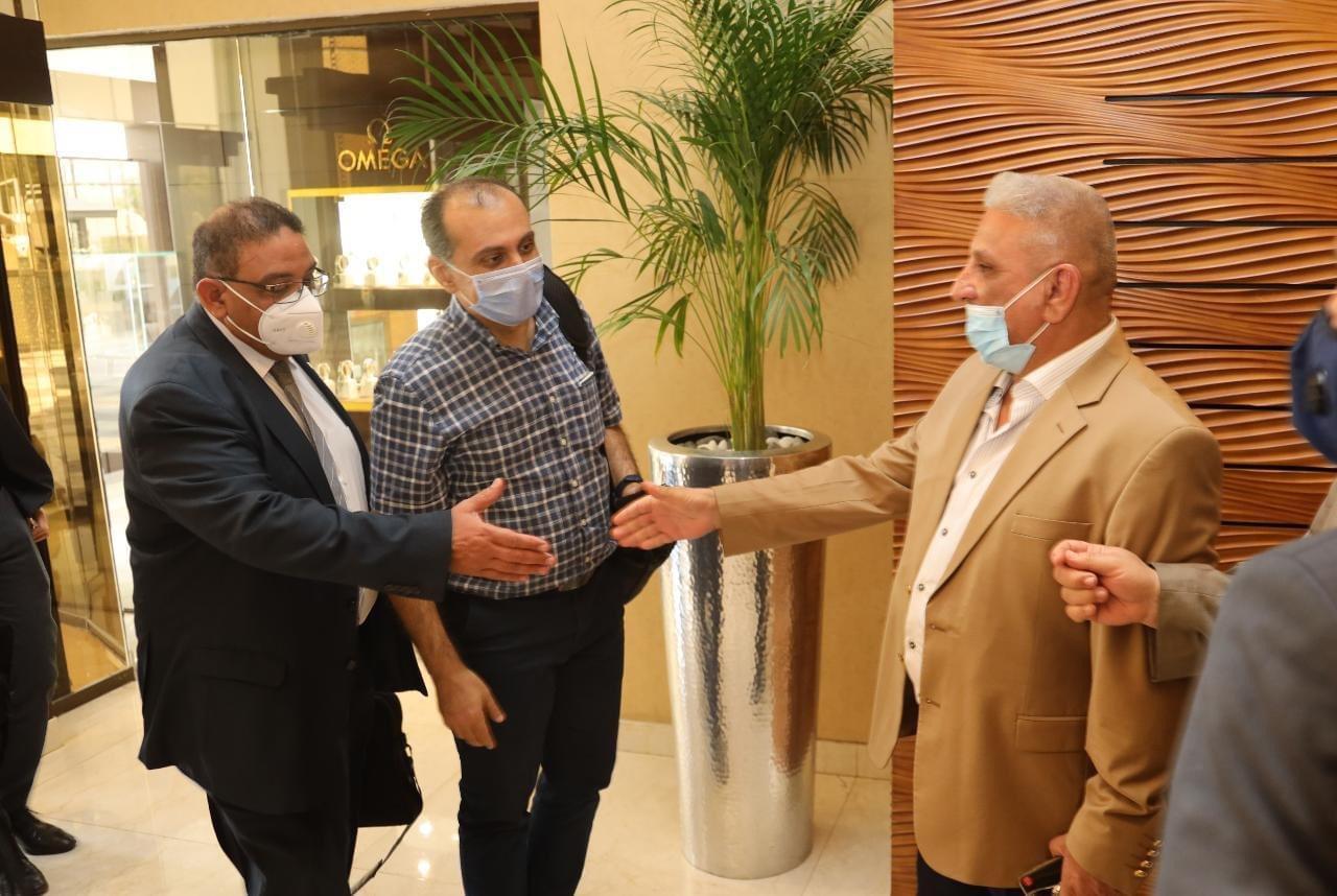 وفد من  الري  يبحث في العراق مجالات التعاون المشترك