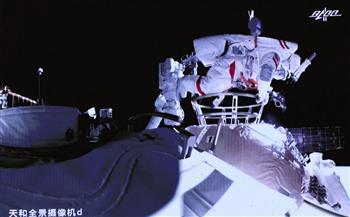 رواد الفضاء الصينيون ينجحون في أولى الأنشطة خارج المركبة لبناء المحطة الفضائية الصينية