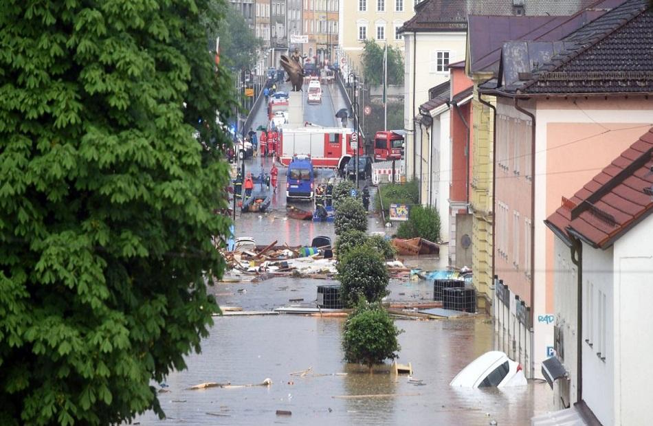 الجيش الألماني يعلن اعتزامه إنهاء مهمة دعم الولايات المتضررة من السيول
