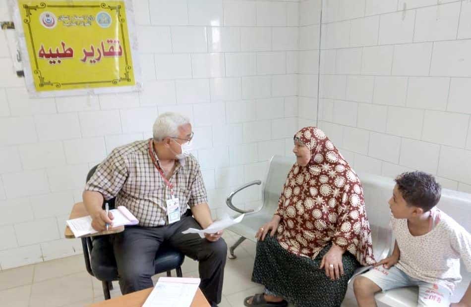 قافلة طبية بقرية الرملة في كفر الشيخ