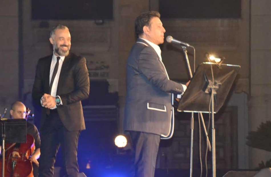 هاني شاكر في حفله بالأوبرا