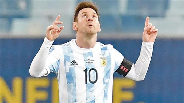 ميسى على رأس قائمة الأرجنتين لتصفيات المونديال