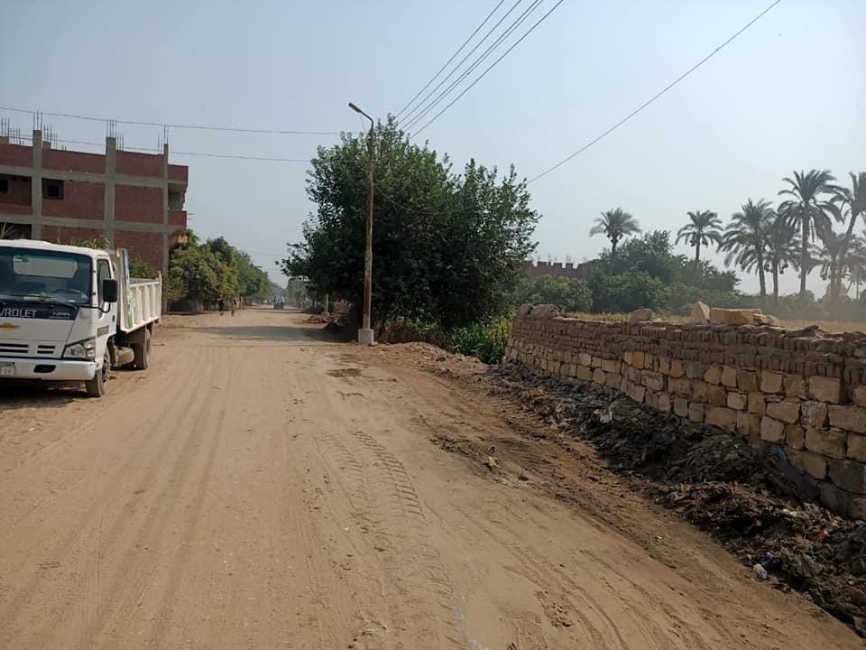 أعمال النظافة في قرى مركز أطفيح