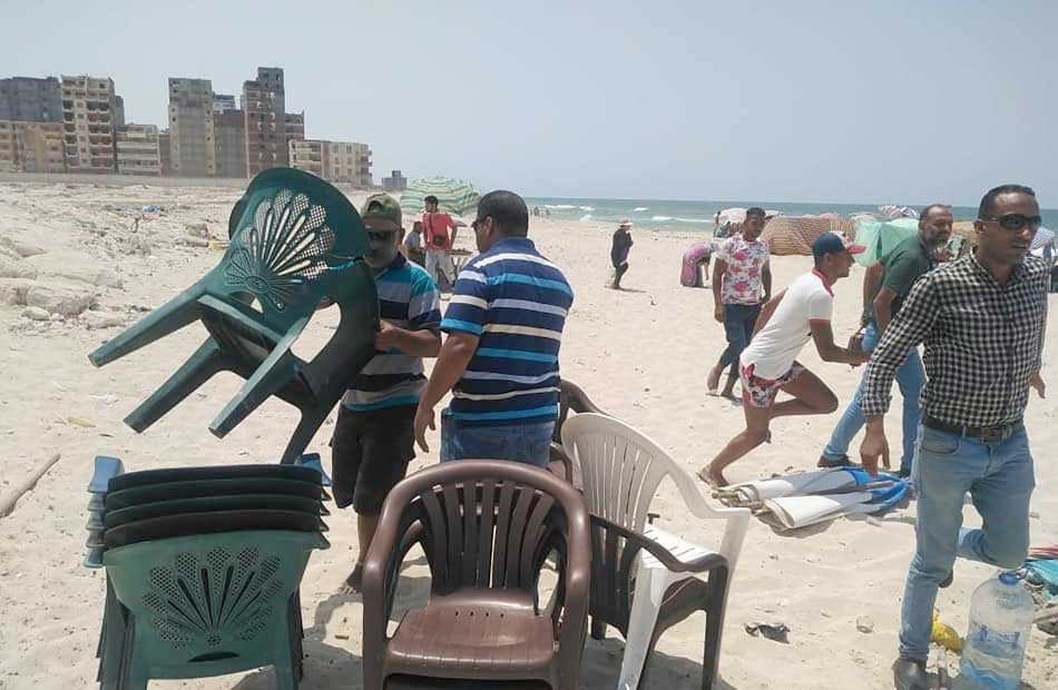 السياحة والمصايف بالإسكندرية تعلن  حجزا إلكترونيا للشواطئ اليوم