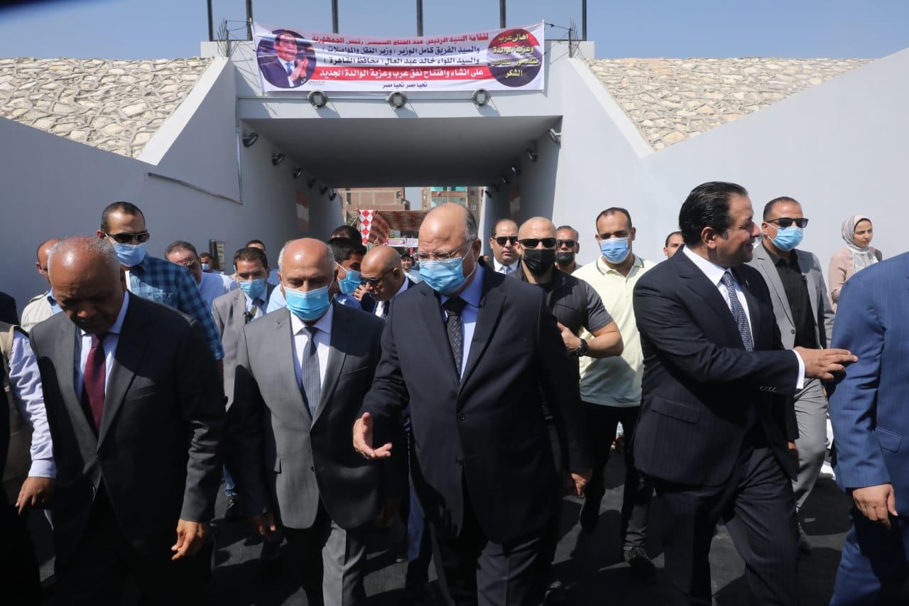 النقل  مليون جنيه تكلفة نفق السيارات في حلوان مناصفة مع محافظة القاهرة