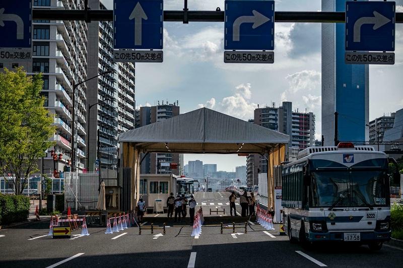 قرية الرياضيين تفتح من جديد قبل أسبوع من انطلاق بارالمبياد طوكيو