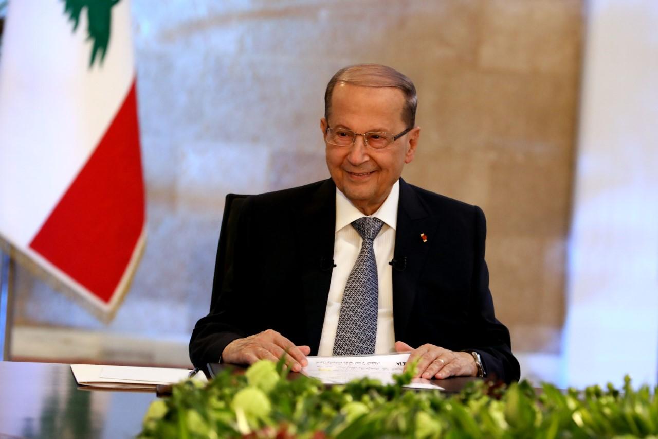 الرئيس اللبناني يتعهد بإصلاحات حقيقية خلال السنة الأخيرة من ولايته