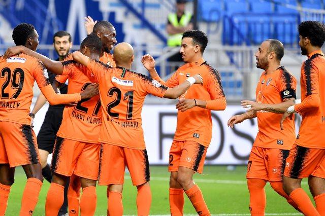 عجمان يهزم بني ياس بثنائية في الدوري الإماراتي