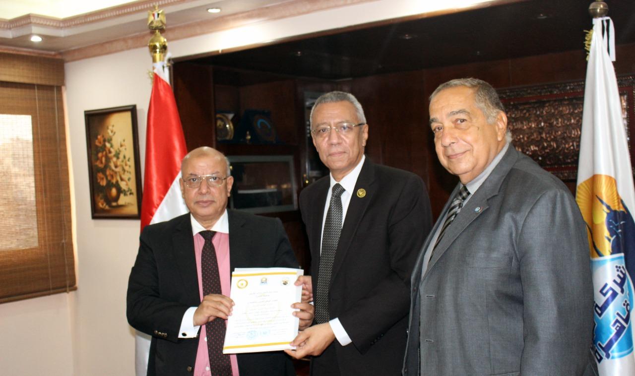 مياه القاهرة تحصل على اعتماد المجلس الوطني للتدريب والتعليم