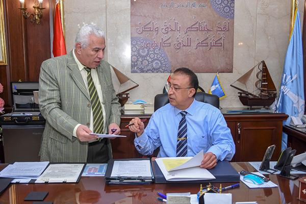 محافظ الإسكندرية يعتمد تنسيق رياض الأطفال للمدارس