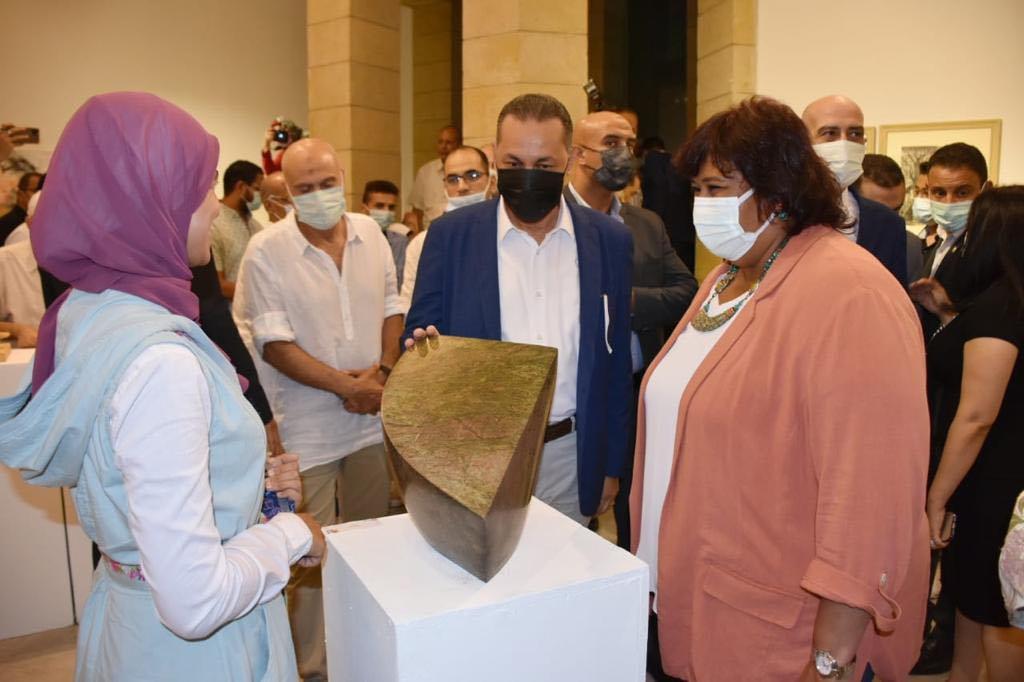 افتتاح المعرض العام