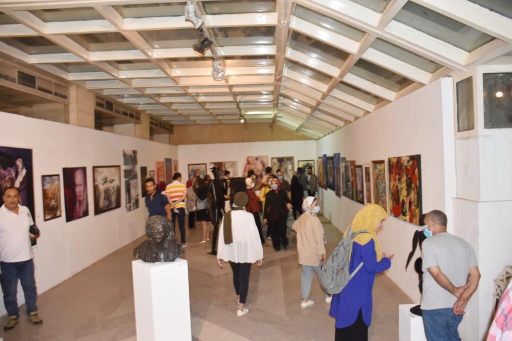 افتتاح المعرض العام 2021