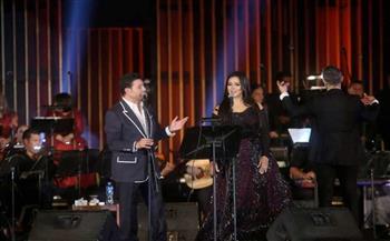 هاني شاكر يتألق في حفله بالأوبرا وسط حضور محبيه  صور