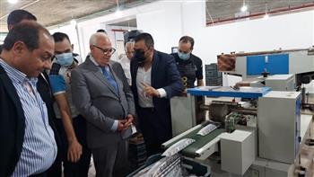 محافظ بورسعيد يشيد بأحدث مصنع لإنتاج البخور بالمنطقة الصناعية ببورسعيد صور