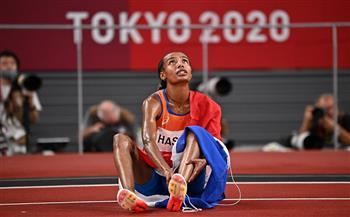 الهولندية سيفان حسن تحصد ذهبية سباق 5000 متر فى أولمبياد طوكيو