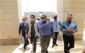 تمهيدا للانتقال إليها.. وزير القوى العاملة يتفقد مبنى الوزارة بحي الوزارات في العاصمة الإدارية  صور
