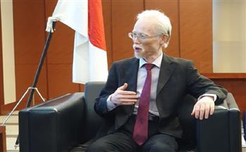سفير اليابان: علاقتنا مع مصر تاريخية وشجعت «الفراعنة» في الأولمبياد.. وحرصنا على إقامة نسخة آمنة  صور