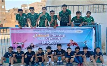 استئناف فعاليات أولمبياد الطفل المصري في 4 ألعاب جماعية وفردية بمطروح   صور