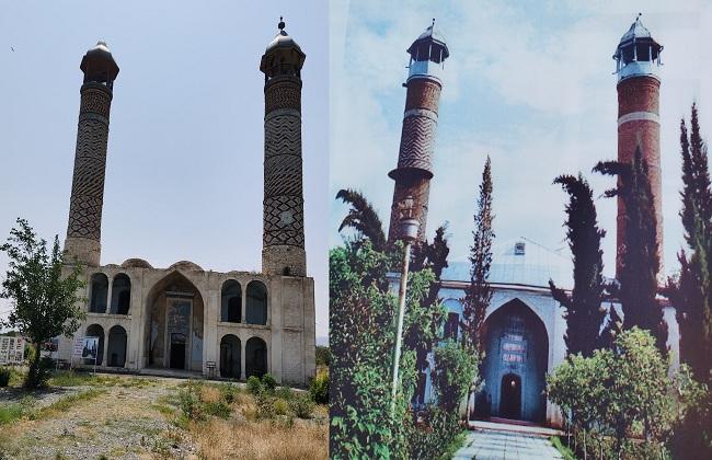 مسجد الجمعة قديما والآن