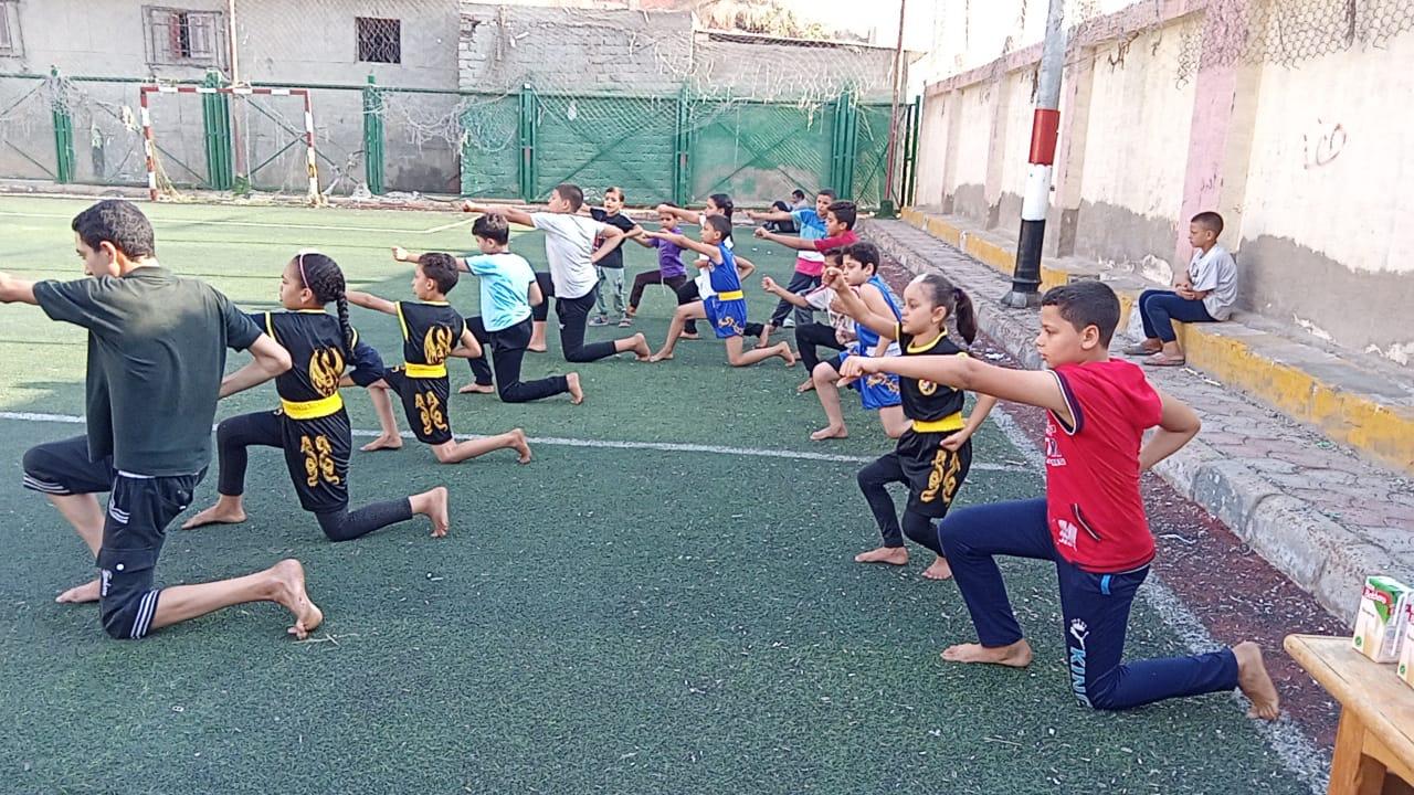 ملاعب مراكز شباب كفر الشيخ تستقبل مبادرة ساعة رياضة  الصبح | صور
