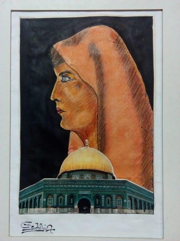 معرض  فلسطين فى ضمير العالم