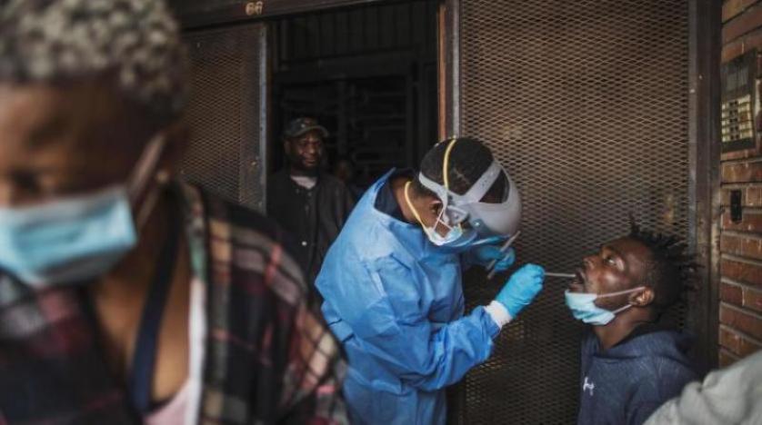 إفريقيا  ملايين و  ألفا إجمالي إصابات كورونا بالقارة السمراء
