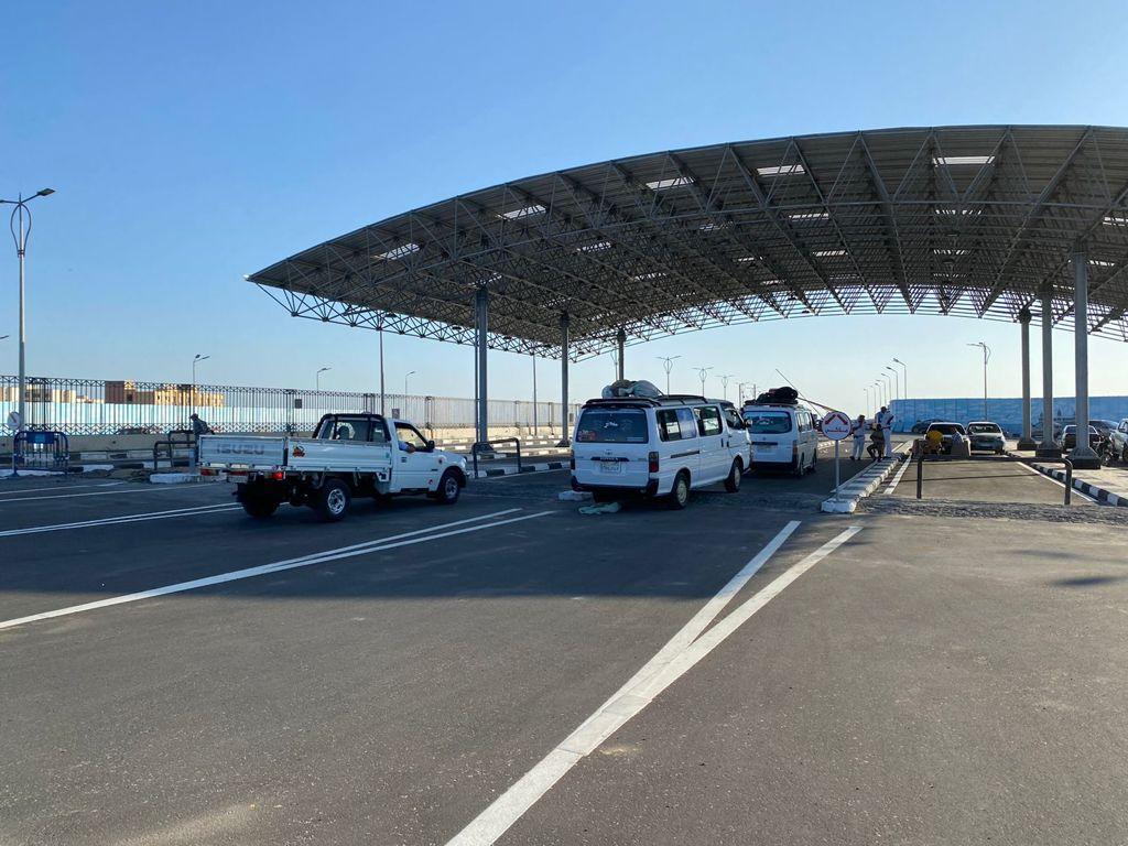محافظ بورسعيد تشغيل منفذ الحي الإماراتي الجديد على طريق محور  يونيو | صور