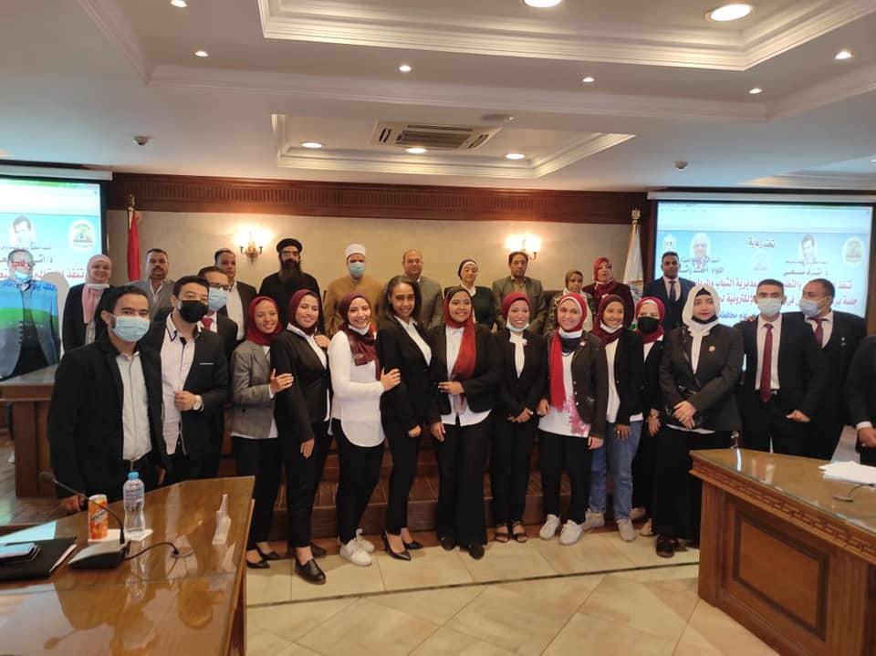 محافظة الجيزة تنظم جلسة محاكاة لبرلماني الطلائع والشباب صور