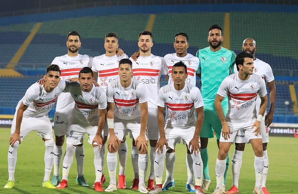 لاعبو الزمالك الدوليون ينتظرون المنتخب في الإسكندرية