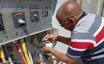حملة-لإصلاح-أعطال-الكهرباء-في-البحيرة