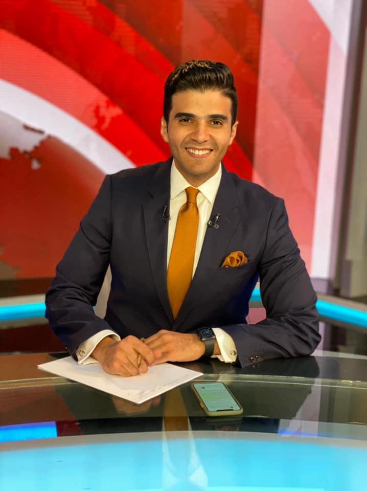 الإعلامى أحمد عبد الصمد