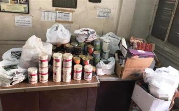 ضبط-أدوية-بيطرية-محظور-تداولها-داخل-مخزن-بقلين-في-كفر-الشيخ