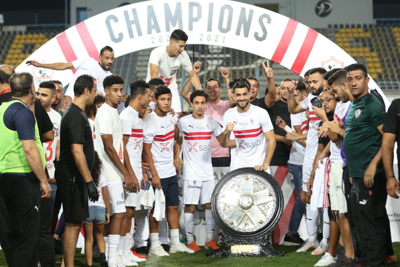 الزمالك ينظم احتفالية كبرى بعد الفوز ببطولة الدوري
