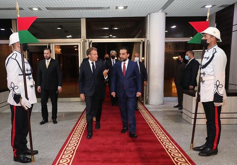 رئيس مجلس النواب العراقي والرئيس الفرنسي يبحثان سبل تحقيق التنمية والاستقرار في المنطقة