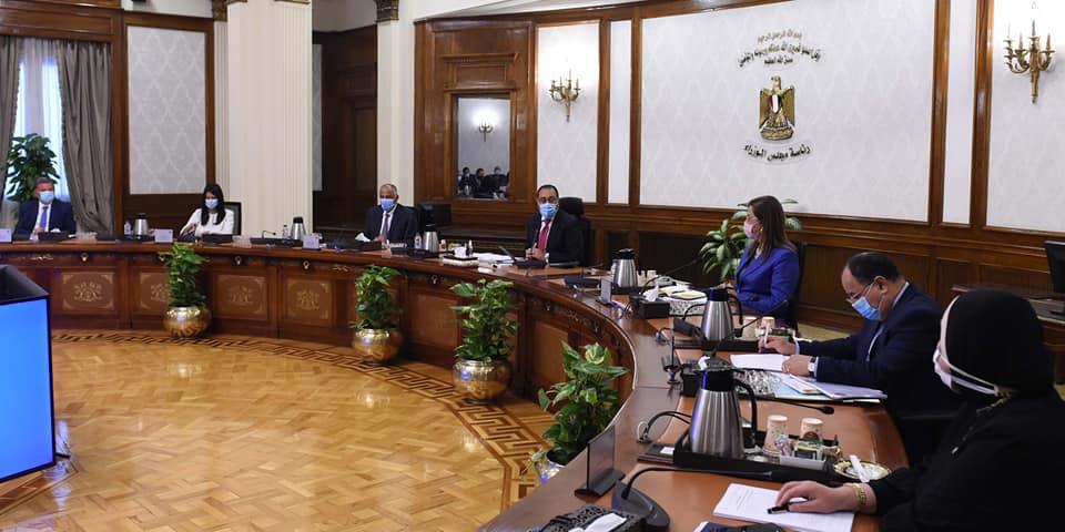 استعراض تقرير بشأن سيناريوهات أداء الاقتصاد المصري في السنوات المقبلة تمهيداً لعرضه على رئيس الجمهورية