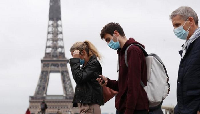 فرنسا تسجل  إصابة جديدة بكورونا خلال  ساعة