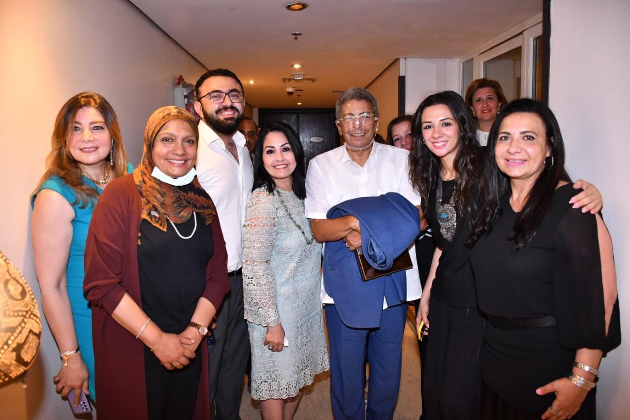 تكريم محمود سعد عن مشواره الإعلامي