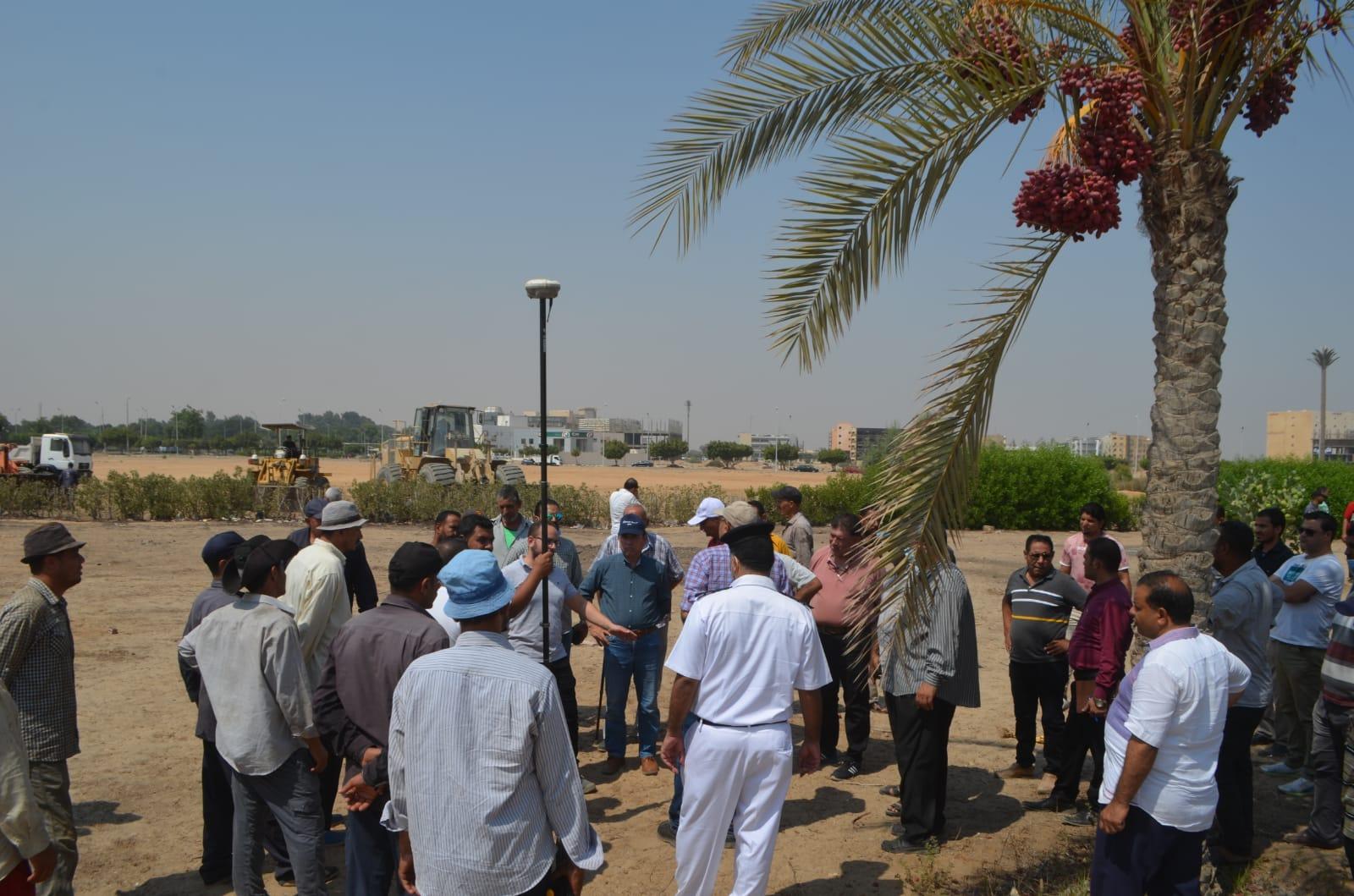 حملة موسعة جديدة لإزالة التعديات بمدينة العاشر من رمضان