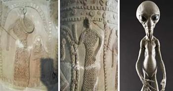 """الإجابة في """"كنوز النمرود"""".. هل عرف العالم القديم """"المخلوقات الفضائية؟   صور"""