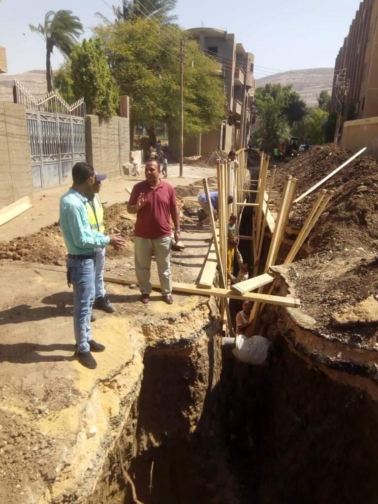 مشروع الصرف الصحي في عرب بني واصل