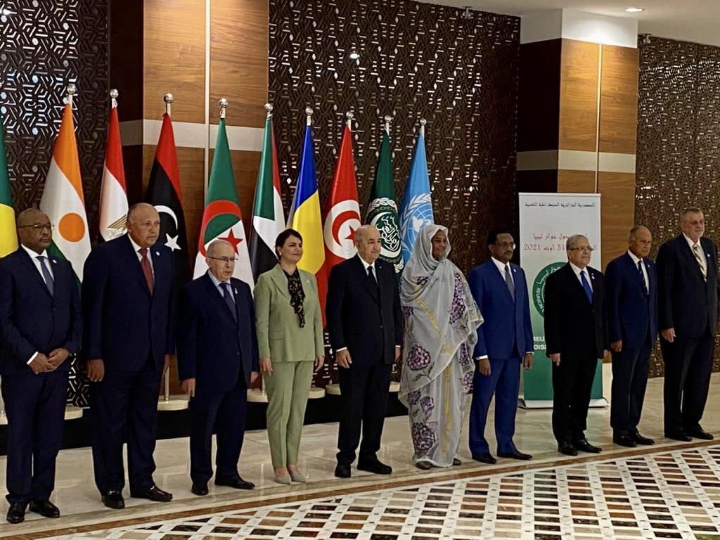 دول جوار ليبيا  يدعون إلي انسحاب كافة القوات الأجنبية والمقاتلين الأجانب والمرتزقة